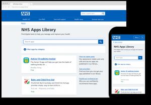 NHS App Library Website