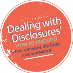 Dealing With Disclosures Infographic