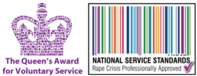 The Queens Award for Voluntary Service & National Service Standards Logos