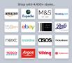 ogos for amazon, expedia, M&S, booking.com, ebay, boots, sainsburys, next, asos, debenhams, argos, tesco, viking